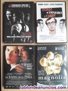 Lote 73 peliculas dvd cine