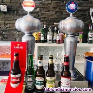 Se traspasa excelente bar cafeteria cerveceria en plaza peatonal