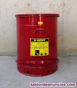 Papelera seguridad 80 litros