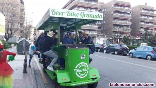 Beer Bike Granada