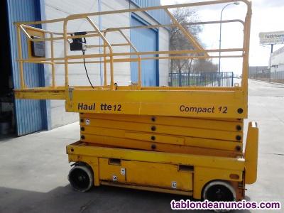 Plataforma elevadora de tijera electrica Haulotte Compact 12