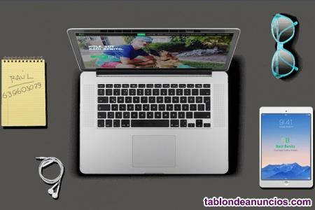 Diseño página web oferta