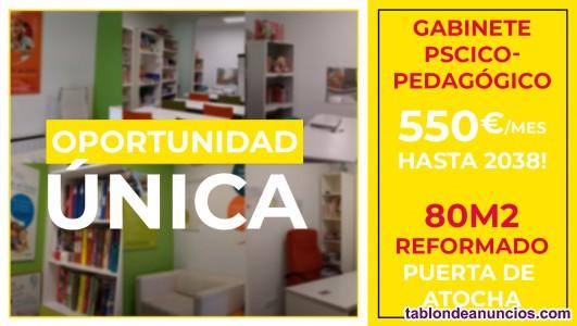 Traspaso de alquiler o cesión Gabinete de psicología  en Puerta de Atocha