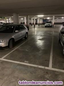 Se alquila plaza de parking muy cerca de Renfe y Corte Inglés