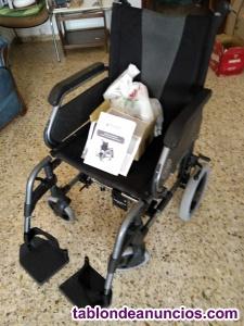 Vendo silla de ruedas con motor