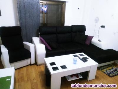 Vendo sofá chease longue y sillón relax