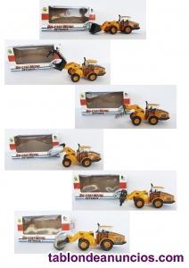 Excavadoras de plástico de juguete