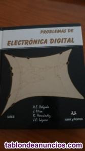 """Libro """"Problemas de Electrónica Digital"""" ed. Sanz y Torres"""