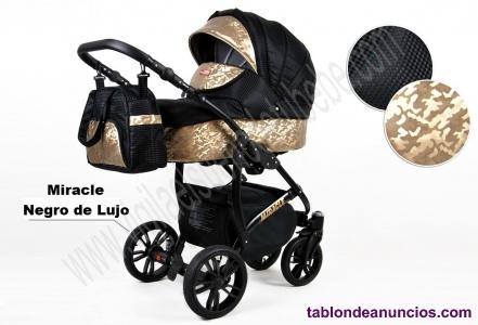 Carro de bebe Dorado Miracles