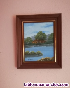 Vendo DOS cuadros pintados al óleo