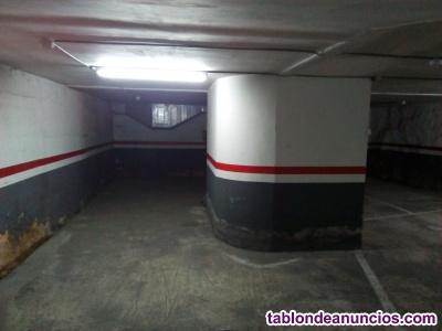 Se vende plaza parking