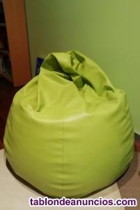 Puf pera verde