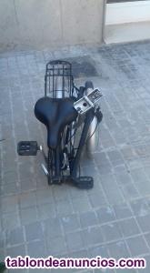 Bicicleta plegable + candado oferto