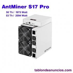 Antminer s17 pro de bitmain (53th)