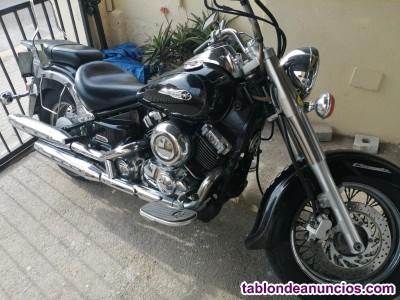 Moto custom yamaha 650 xvs