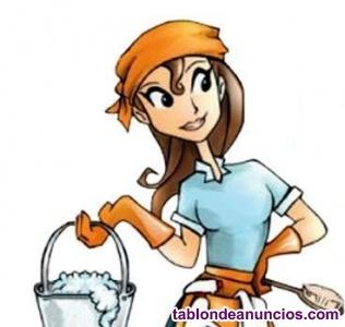 Chica busco trabajo de limpieza y plancha