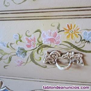 Pintora de murales en negocios y casas particulares