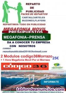 Megafonia movil-reparto publicidad