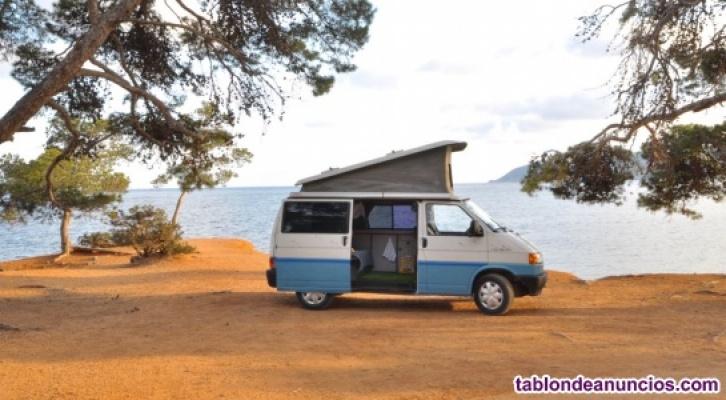 Alquiler Furgoneta Camper en Ibiza. Vacaciones.