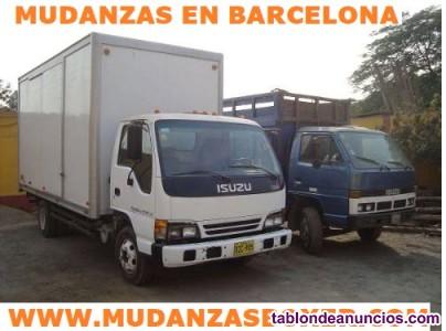 Mudanzas Baratas en Todas Las zonas Barcelona