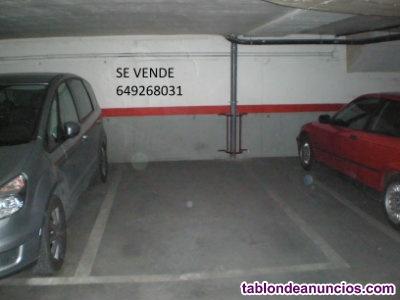 GARCIA NOBLEJAS-ALSACIA: Plaza de garaje en venta