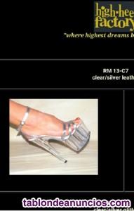 Sandalias estiletto tacón y plataforma