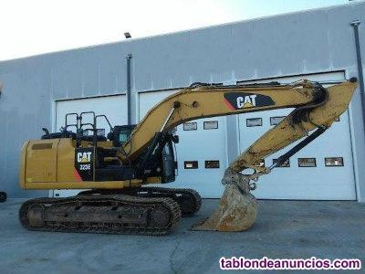 Excavadora cat 323e