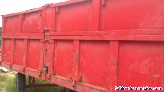 Remolque agrícola de 15 toneladas