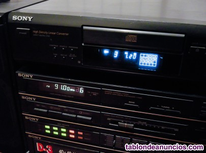 Cd player sony cdp-m305, reproductor.