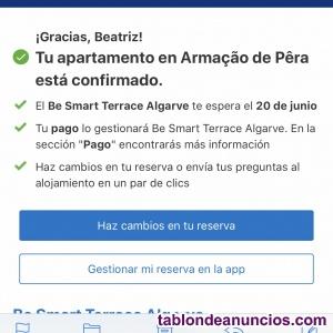 Vendo apartamento en portugal fechas del 20 al 23 de junio cogido por booking