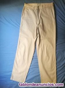 Pantalo de celio tipo chino para hombre