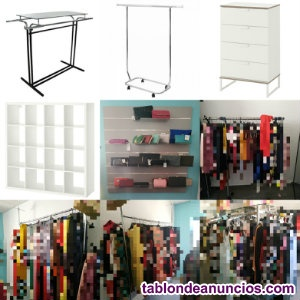 Mobiliario de tienda