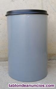 Papelera autoextinguible 110 litros