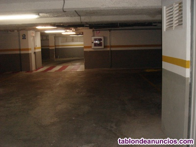 Alquilo plaza de garaje