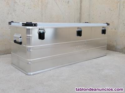 Caja aluminio 117x40x40cm