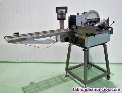 Etiquetadora pesadora automática bizerba gs inox max 10kg