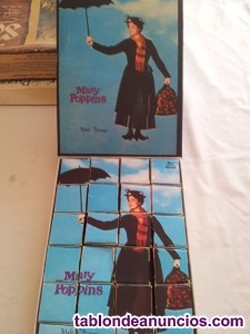 Puzzle cubos mary poppins) año 1970