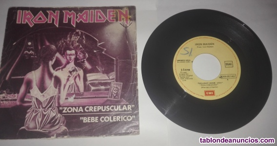 EP VINILO SINGLE IRON MAIDEN