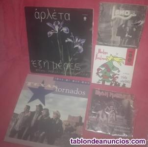 LOTE 5UD VINILOS EP Y LP