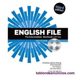 English file pre-intermediate workbook with key