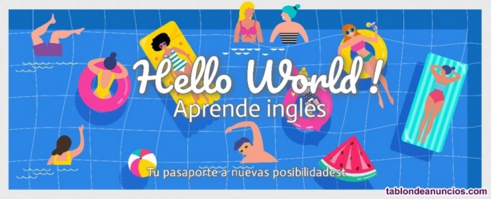 Lección de inglés individualizada en línea (o grupo pequeño) en skype o zoom