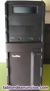 Caja semitorre para PC.