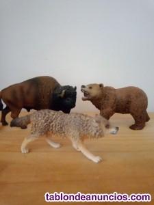 Colección de Animales de juguete marca Schleich