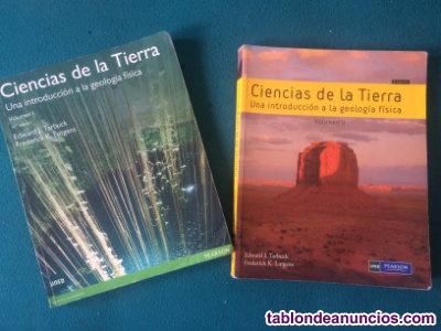 Libros ciencias ambientales uned - ciencias de la tierra vol 1 y 2