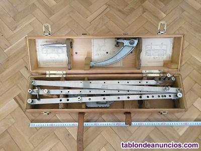 Antiguo pantografo m. Bernal precision madrid - pantograph pantographe