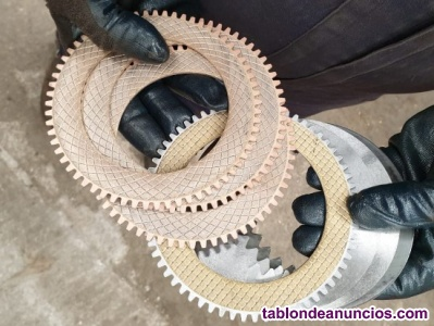 Discos de embrague de maquinaria pesada