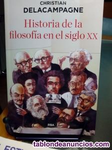 Vendo historia de la filosofia en el siglo xx. Christian delacampagne