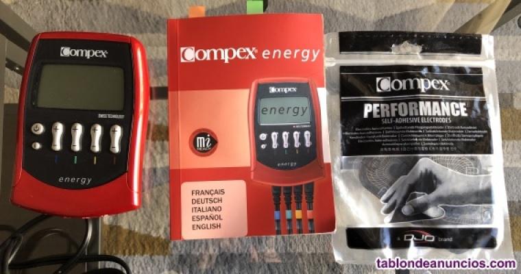 Electroestimulador compex mi energy profesional