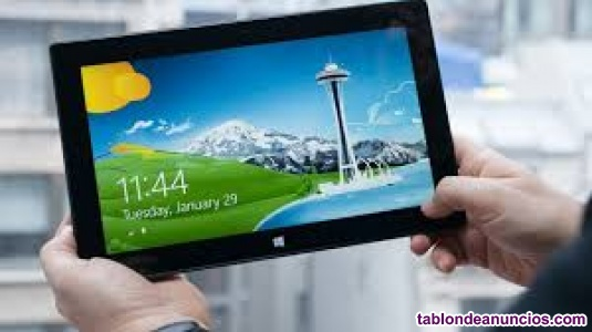 Tablet microsoft surface rt 8. 1