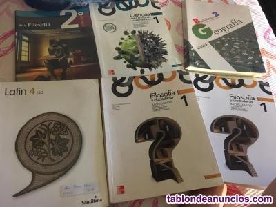 LIBROS DE LA ESO Y BACHILLER